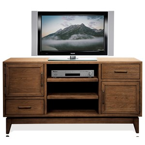 54-Inch TV Console with Removable Shelving