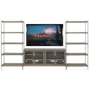 Industrial Contemporary Wall Unit