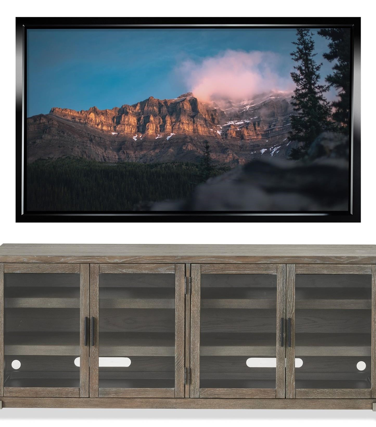 Wander Entertainment Console by Riverside Furniture at Mueller Furniture