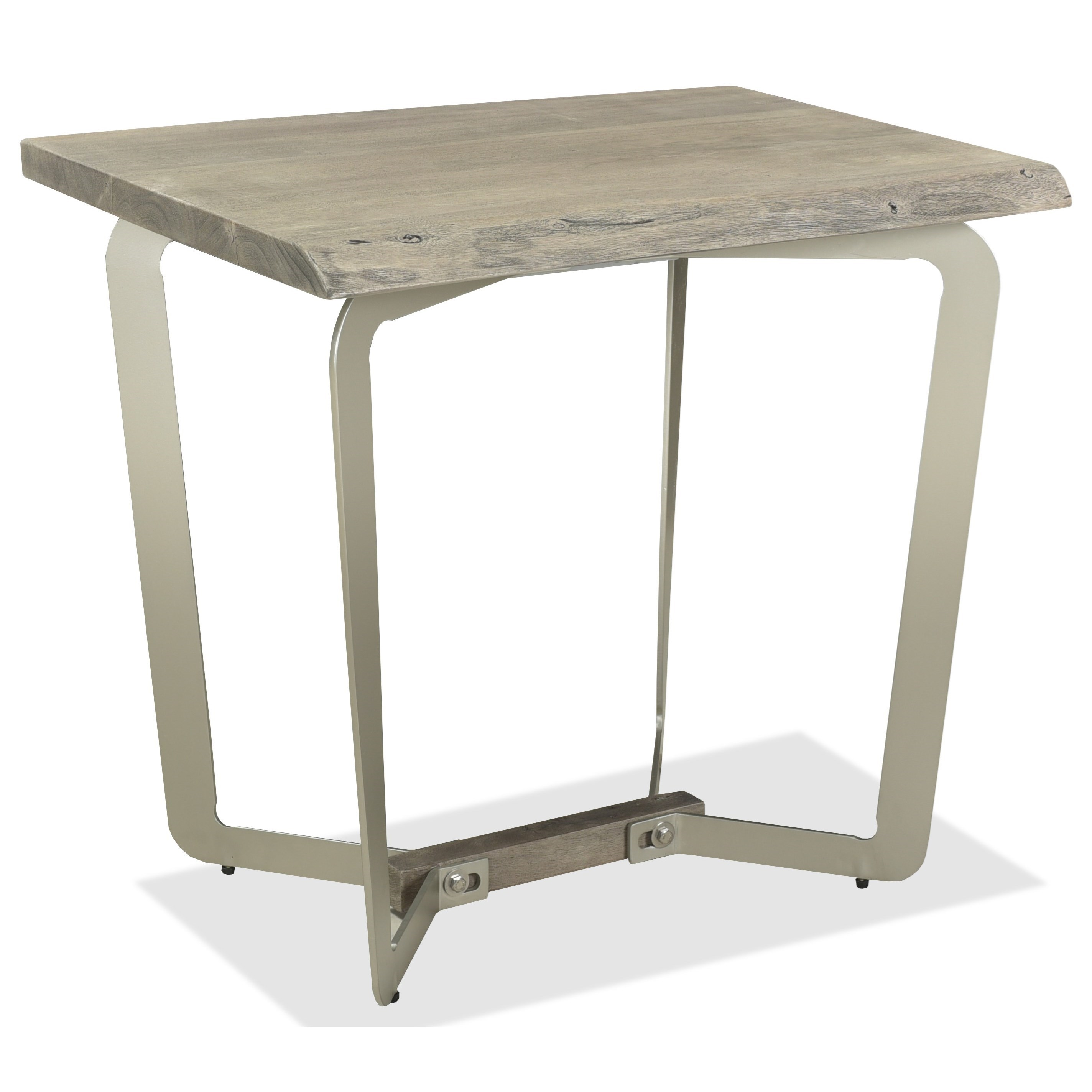 Waverly Side Table by Riverside Furniture at Zak's Home
