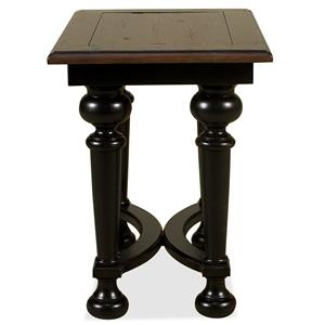 Riverside Furniture Williamsport Chairside Table