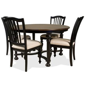 Riverside Furniture Williamsport 5 Piece Table & Chair Set