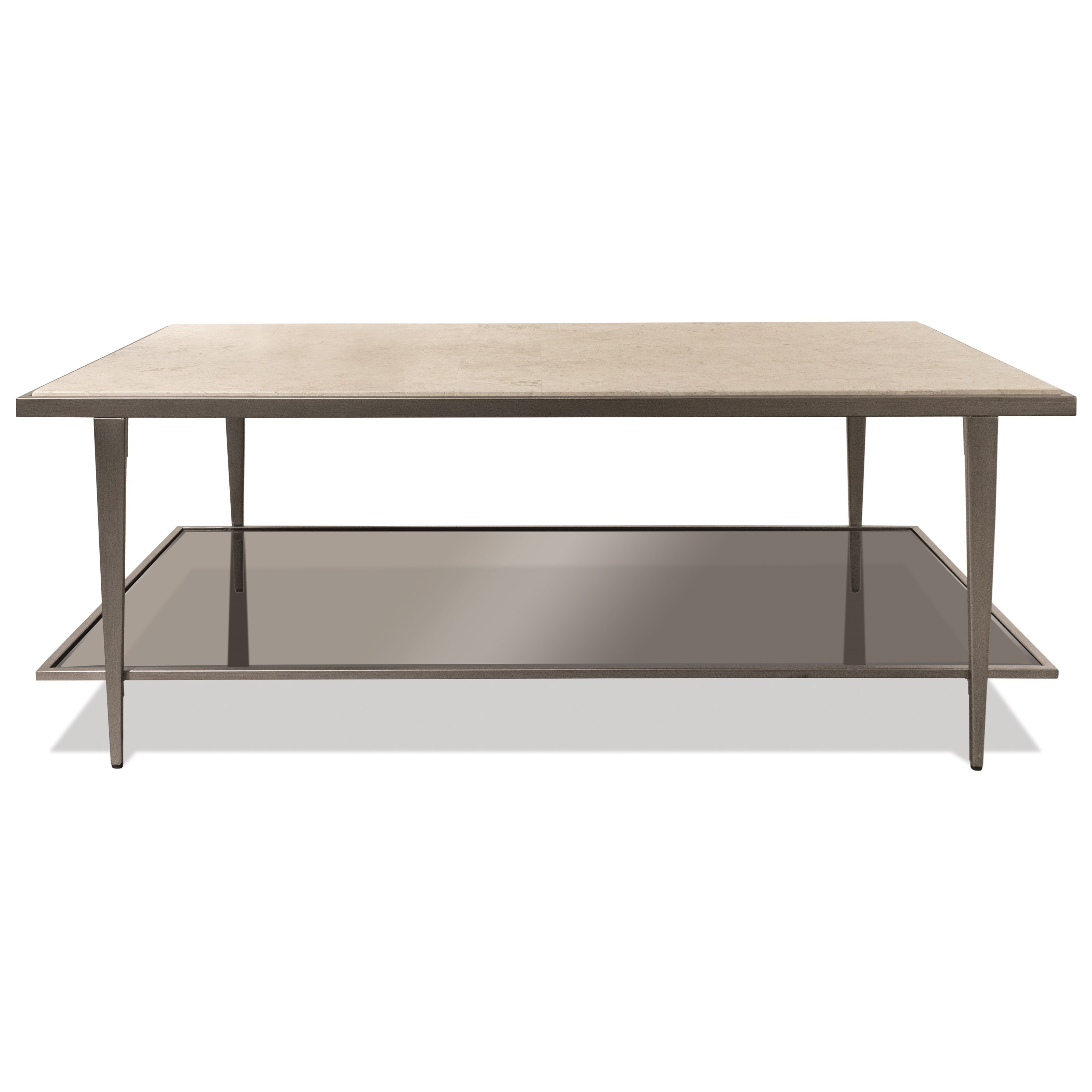 Wilshire Rectangle Cocktail Table by Riverside Furniture at Zak's Home