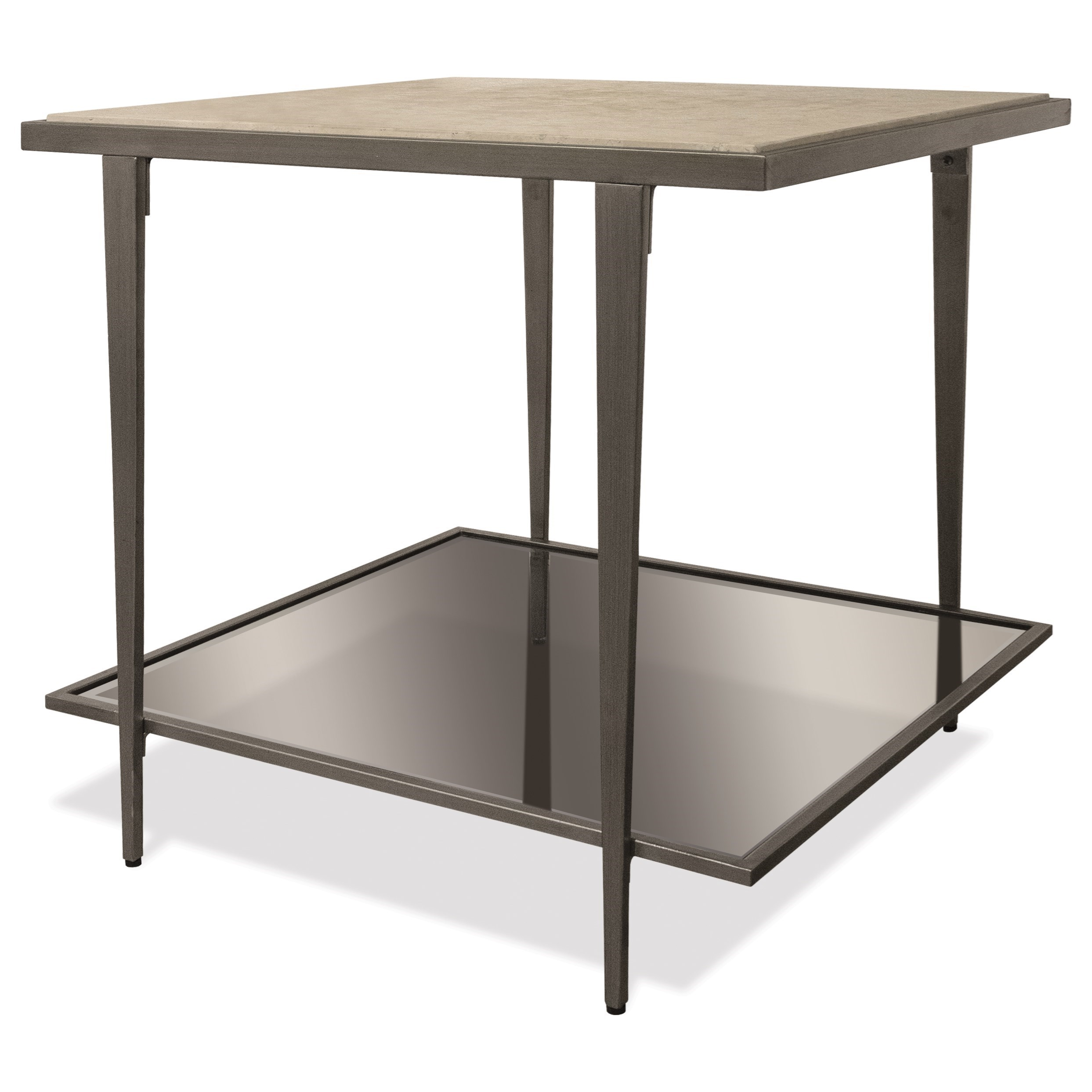 Wilshire Rectangle End Table by Riverside Furniture at Zak's Home