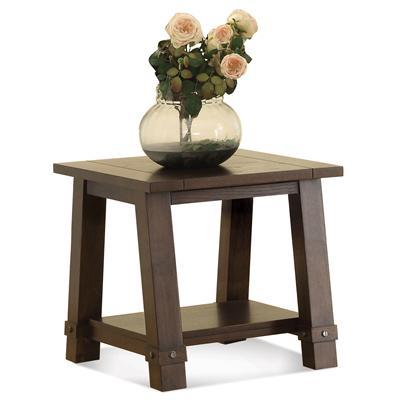 Windridge  Angle-Leg End Table by Riverside Furniture at Mueller Furniture