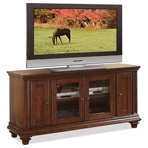 63 Inch TV Console with Adjustable Shelving