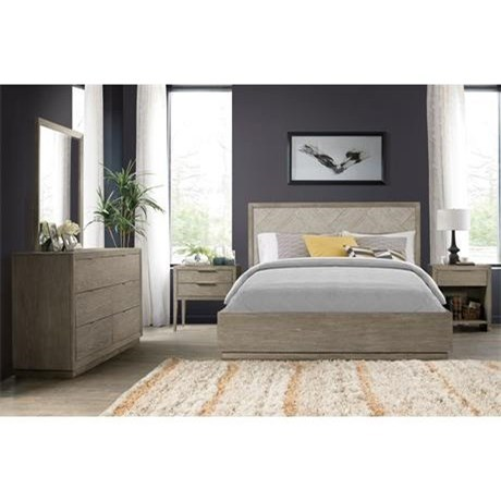 Zoey King Bedroom Group by Riverside Furniture at Nassau Furniture and Mattress
