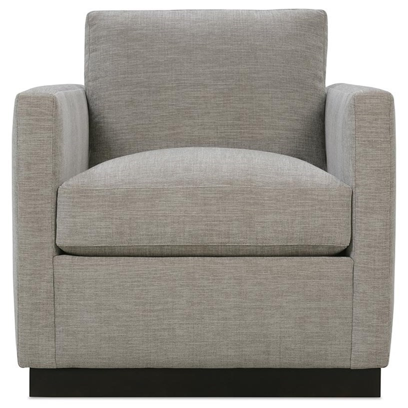 Allie Swivel Chair by Robin Bruce at Steger's Furniture