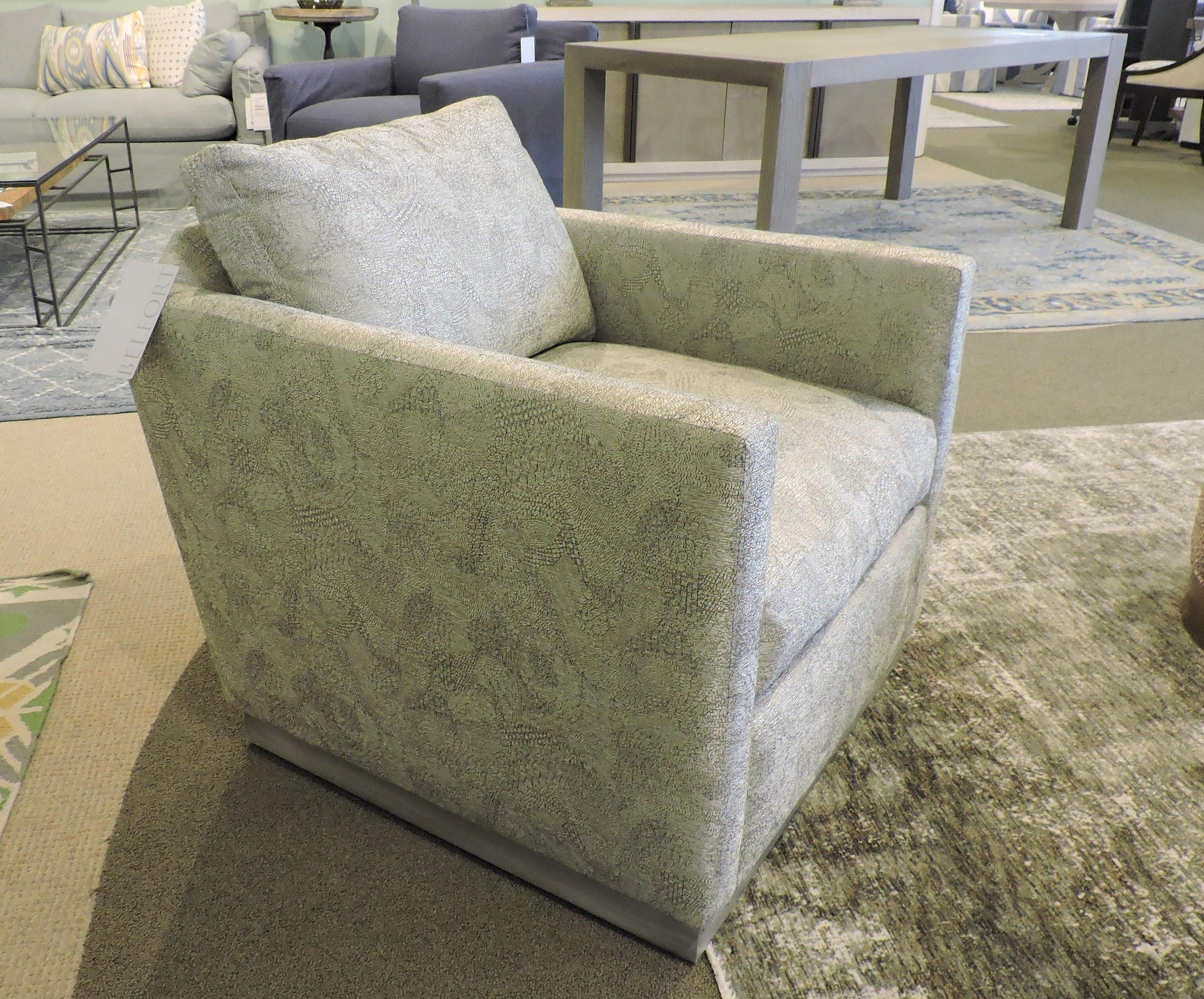 Allie Swivel Chair by Robin Bruce at Belfort Furniture