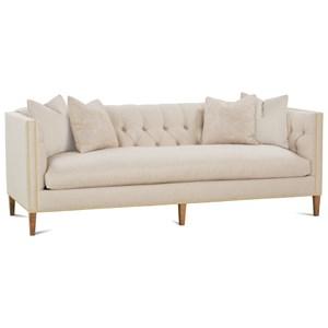 Tuxedo Arm Sofa