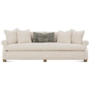 Contemporary 98'' Sofa with Bench Seat