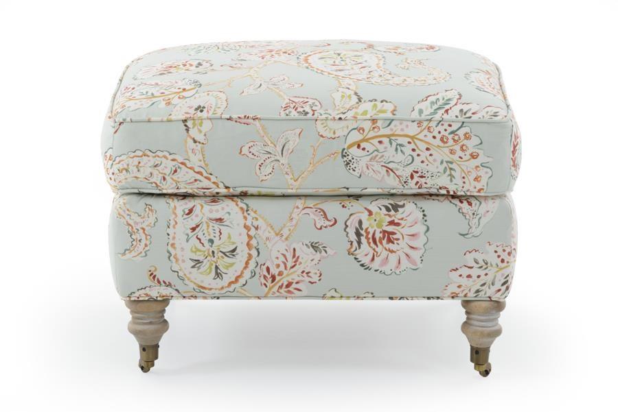 Brooke Ottoman by Robin Bruce at Baer's Furniture