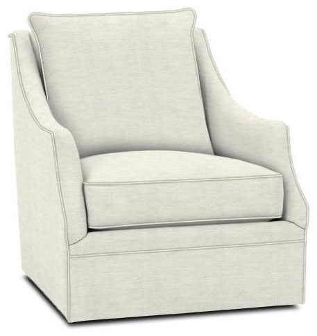 Kara Swivel Chair by Rowe at Crowley Furniture & Mattress