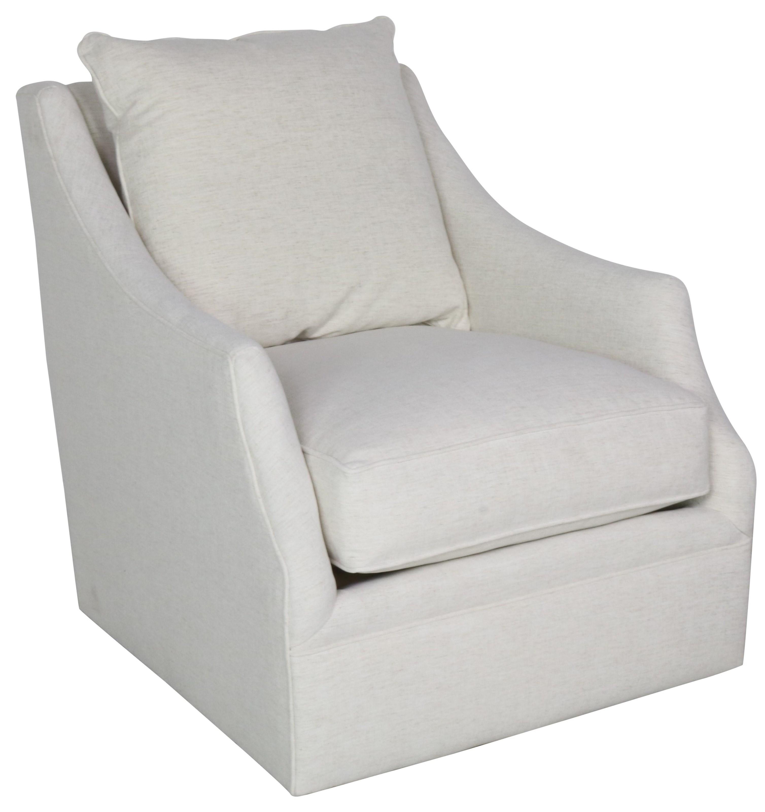 Kara Swivel Chair by Robin Bruce at Sprintz Furniture