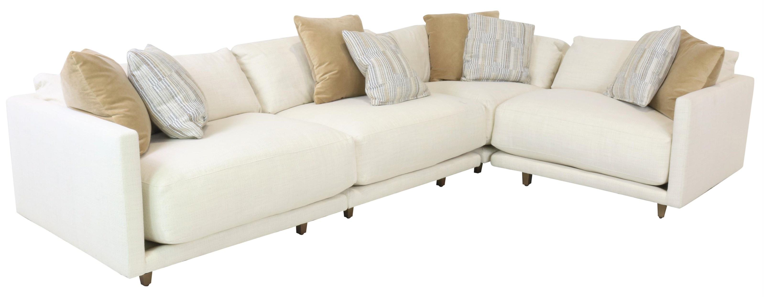 Neval Neval Four Piece Sectional by Robin Bruce at Sprintz Furniture