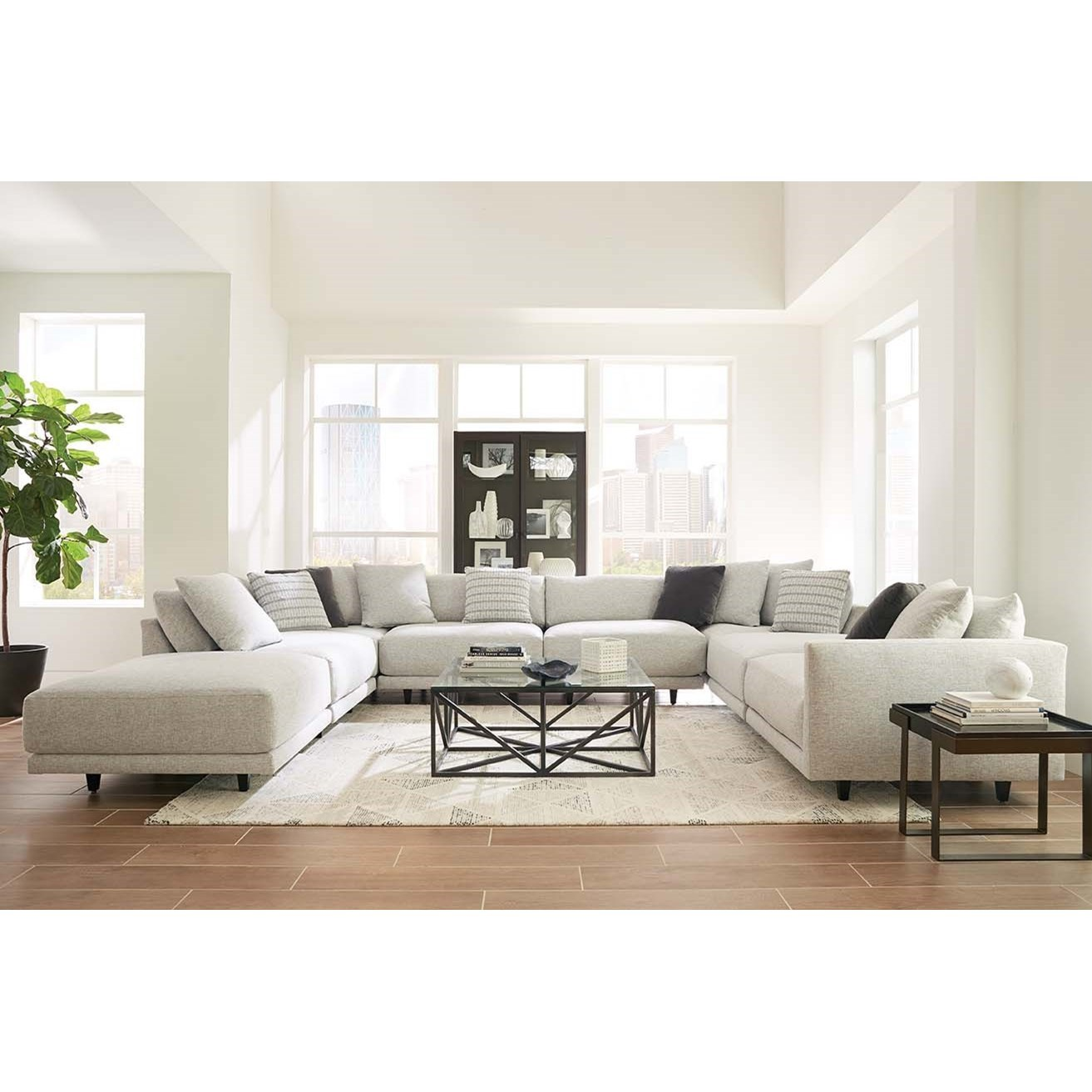 Neval 8-Piece Sectional by Robin Bruce at Sprintz Furniture