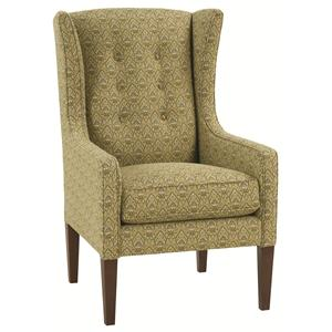 Robin Bruce Accent Chairs Angelica Wing Chair