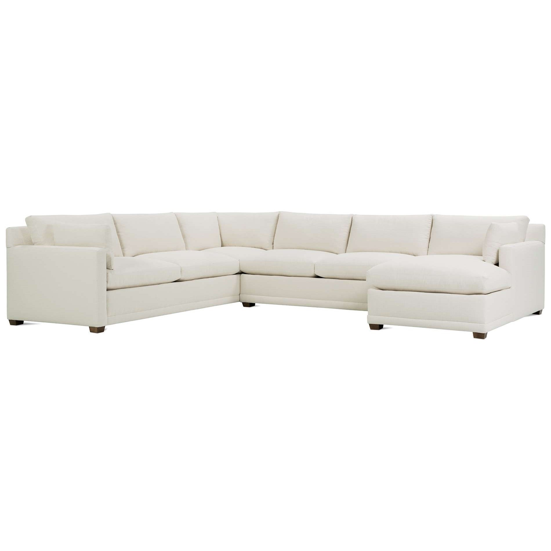 Sylvie Sectional by Robin Bruce at Saugerties Furniture Mart
