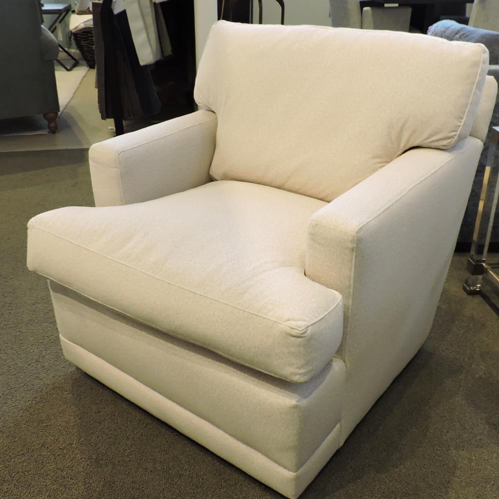 Tatum Swivel Chair by Robin Bruce at Belfort Furniture