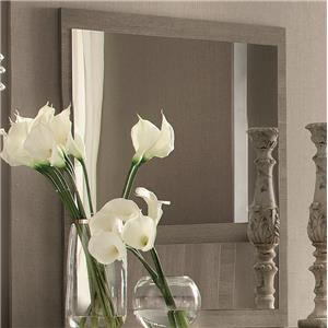 Contemporary Weathered Gray Mirror