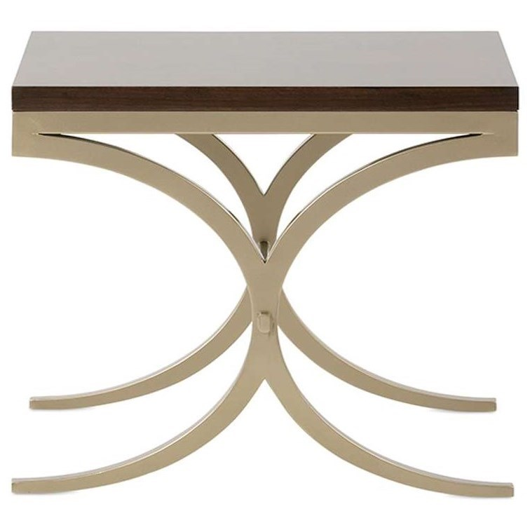 Adonis Cocktail Table by Rowe at Baer's Furniture