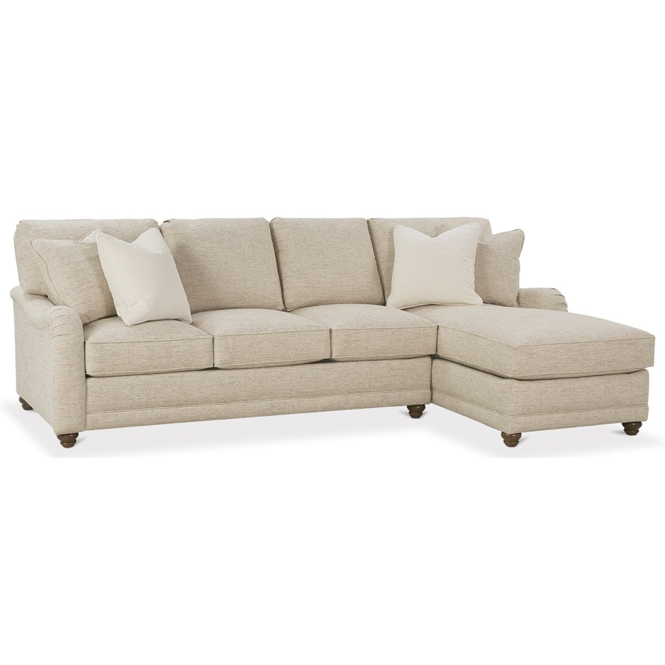 My Style I Customizable Sectional Sofa  by Rowe at Steger's Furniture