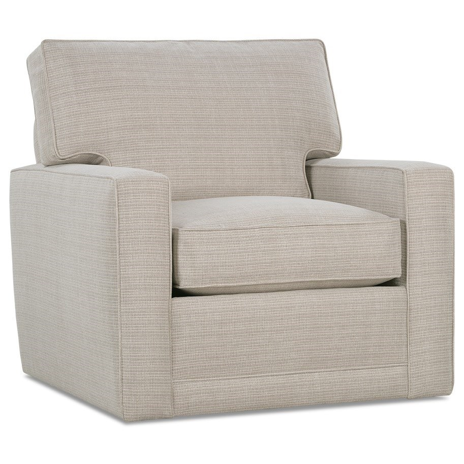 My Style I Customizable Swivel Chair by Rowe at Baer's Furniture
