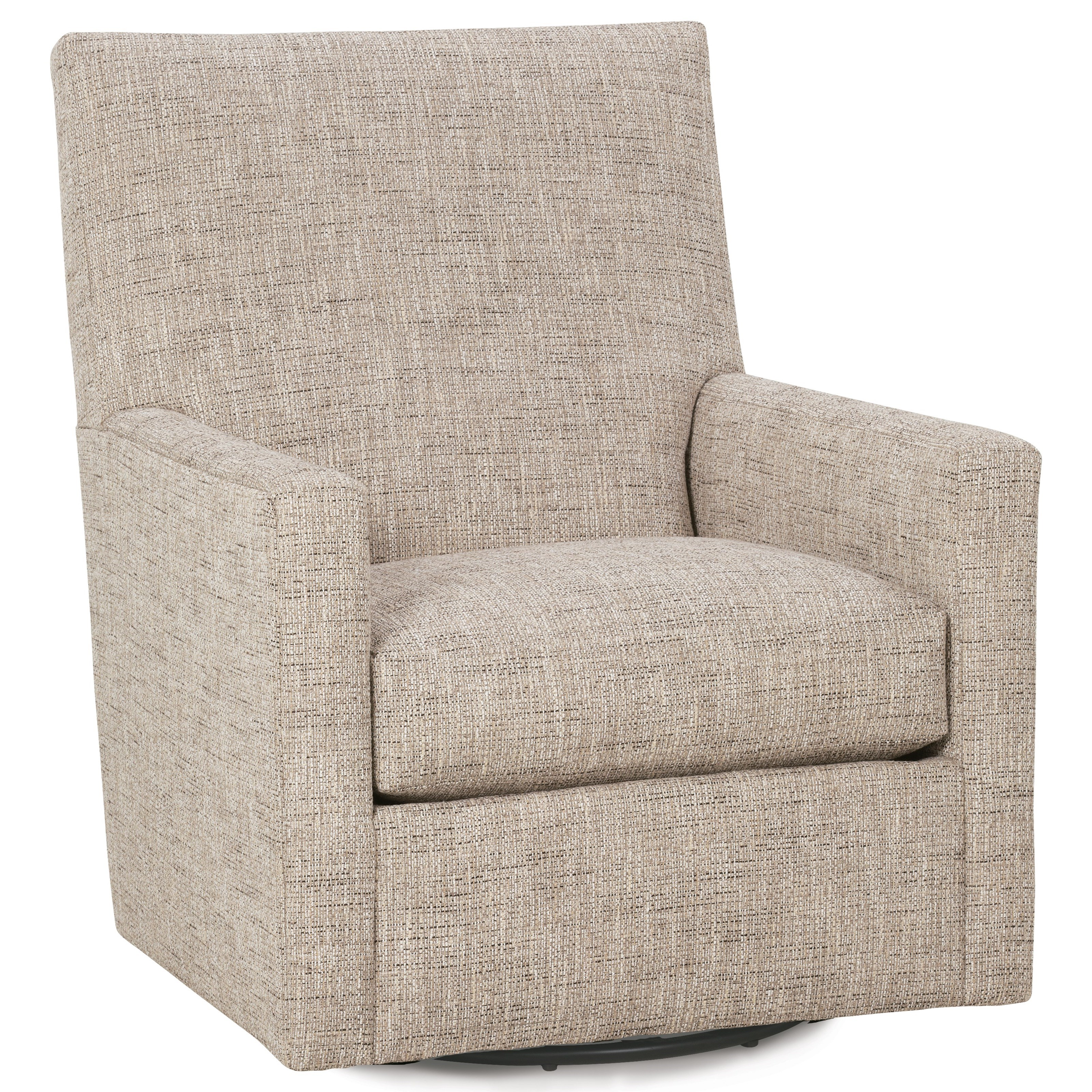 Carlyn Swivel Glider by Rowe at Baer's Furniture