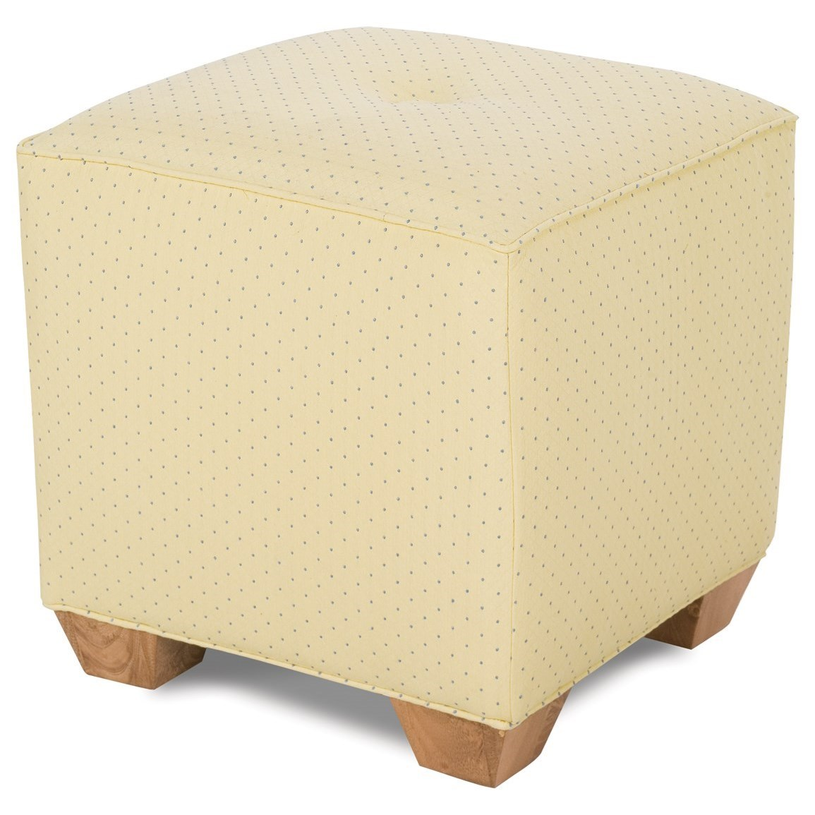Chairs and Accents Le Parc Ottoman by Rowe at Baer's Furniture