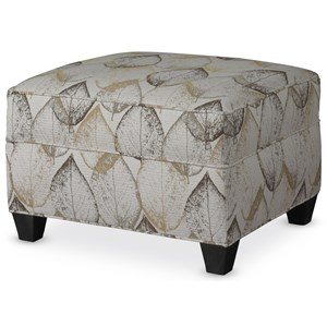 Resilient Pillow Top Ottoman