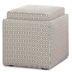 Nelson Cube Ottoman with Storage