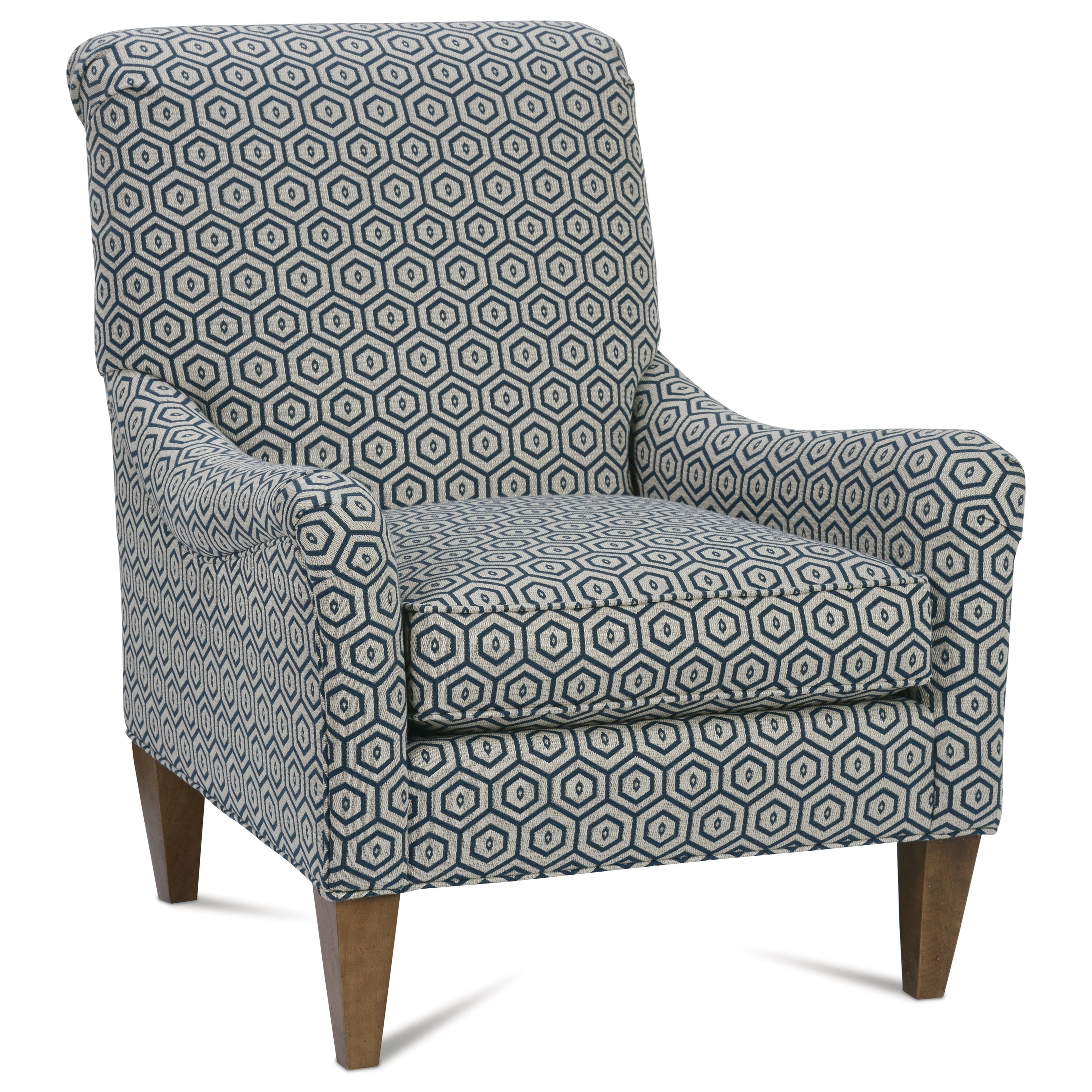 Chairs and Accents Highland Chair by Rowe at Johnny Janosik