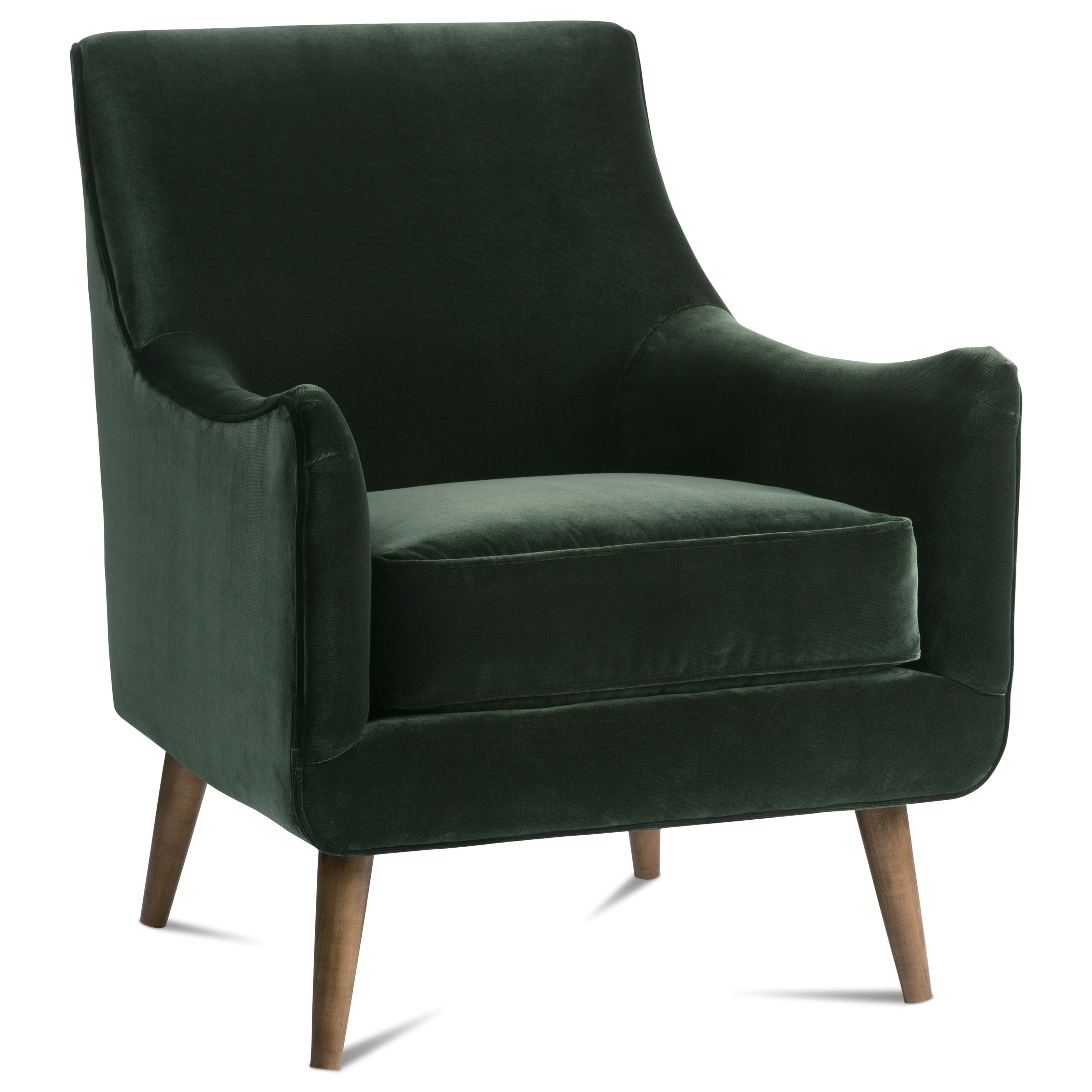 Chairs and Accents Nolan Chair by Rowe at Baer's Furniture