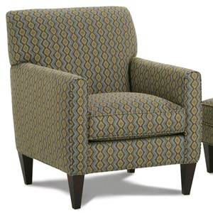 Willet Upholstered Chair with Track Arms