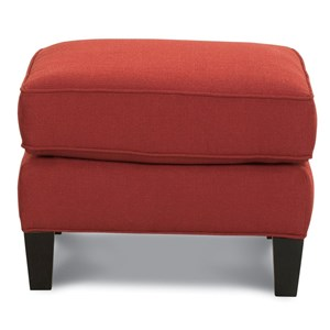 McGuire Upholstered Ottoman