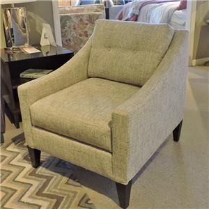 Tufted Pillow Back Chair