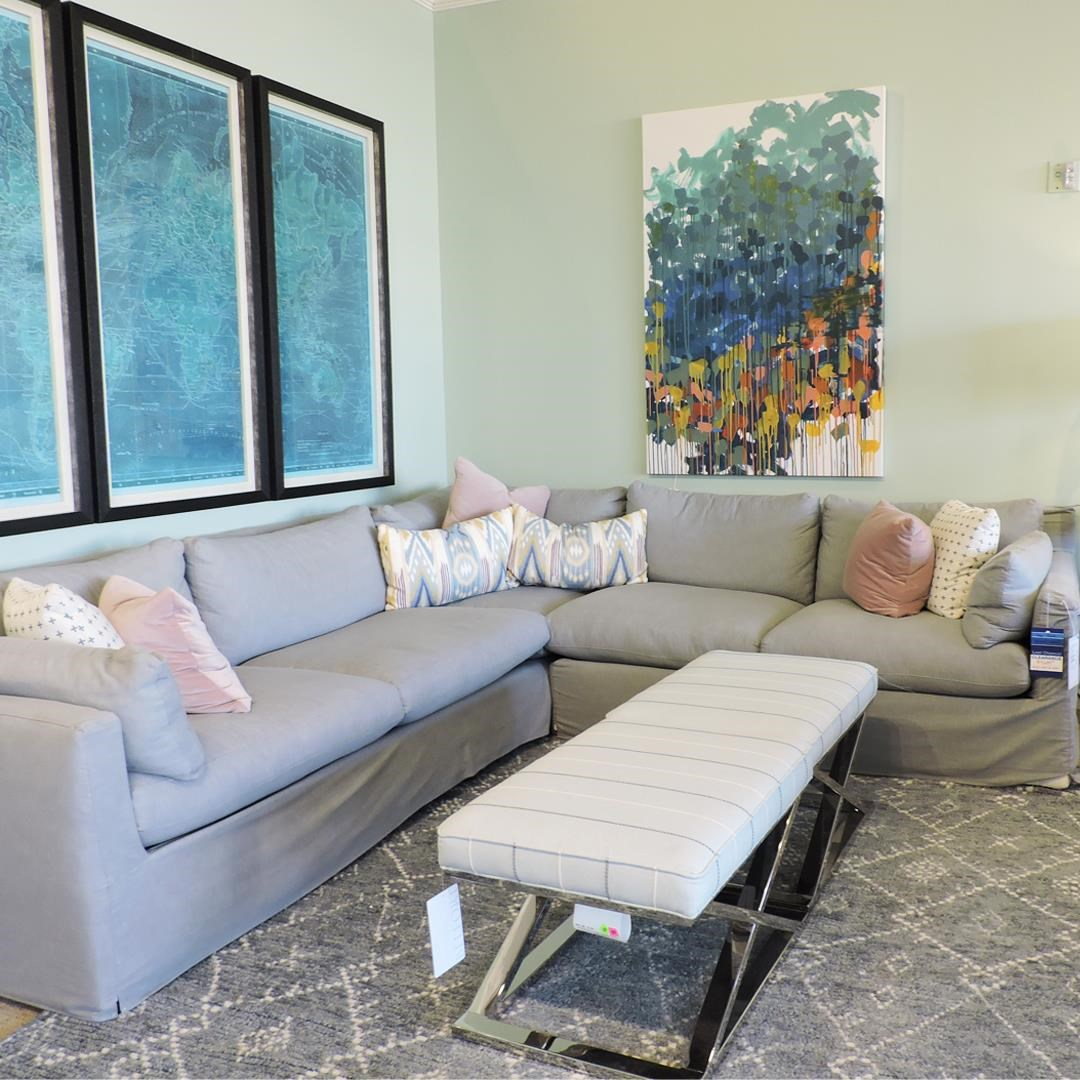 Sylvie Sectional by Rowe at Belfort Furniture