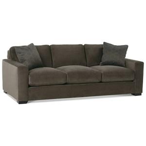 Three Cushion Contemporary Sofa