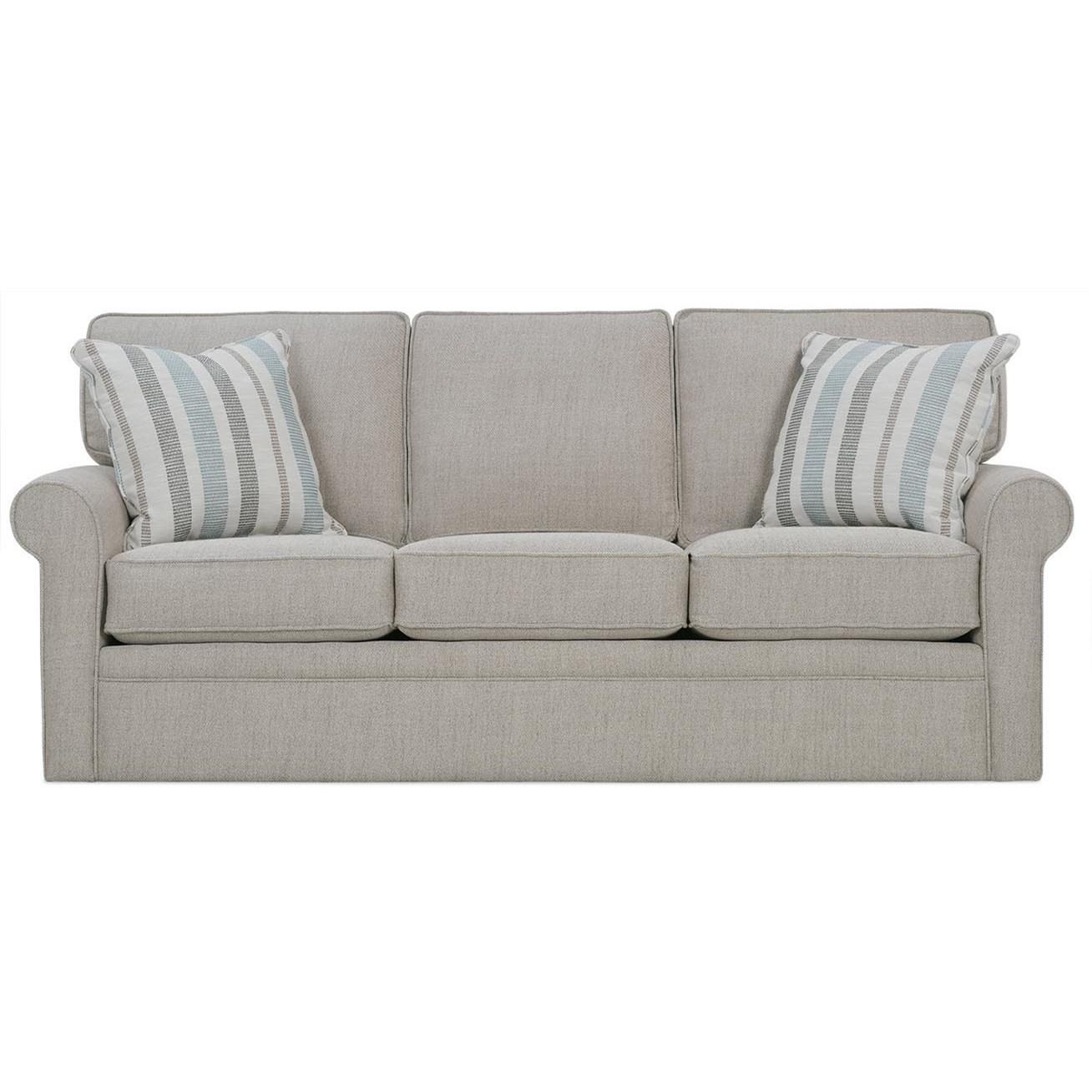 Dalton Queen Sofa Sleeper by Rowe at Baer's Furniture
