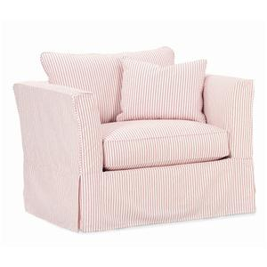 Rowe Darby Slipcover Chair