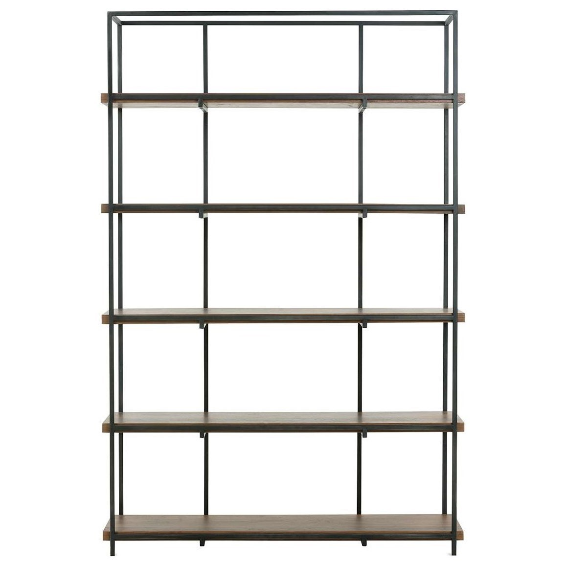 District Bookcase by Rowe at Baer's Furniture