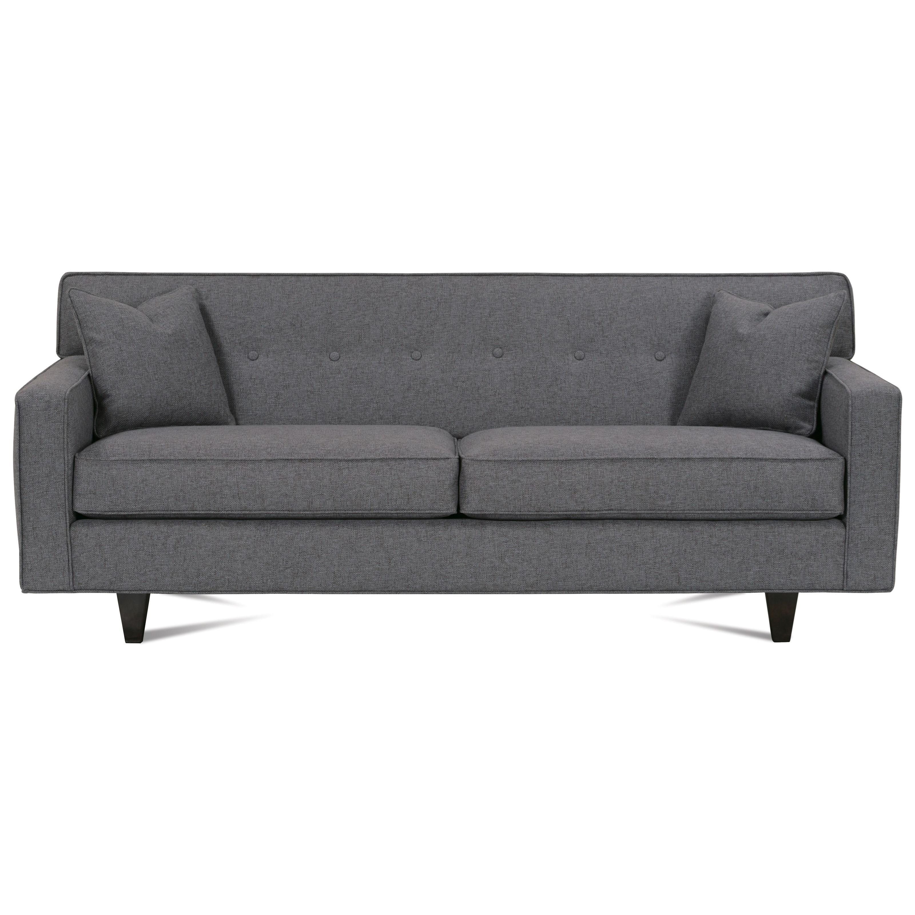 "Dorset 75"" 2-Cushion Sofa by Rowe at Saugerties Furniture Mart"
