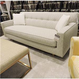 """80"""" Bench Cushion Sofa"""