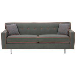 Rowe Dorset 81 Quot 2 Cushion Sofa With Wood Finish Sprintz