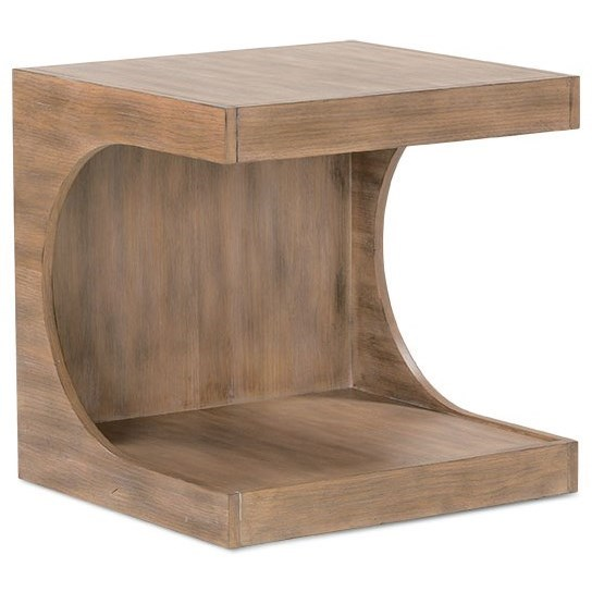 Dune End Table by Rowe at Baer's Furniture