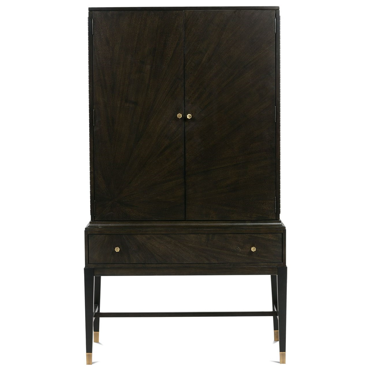 Dynasty Bar Cabinet by Rowe at Baer's Furniture