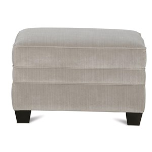 Transitional Chair Ottoman