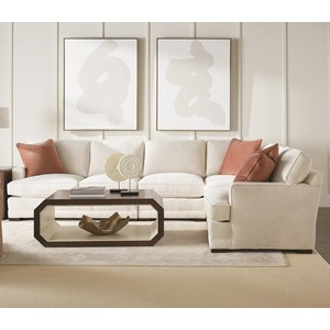 3-Piece Sectional with LSE Corner Sofa