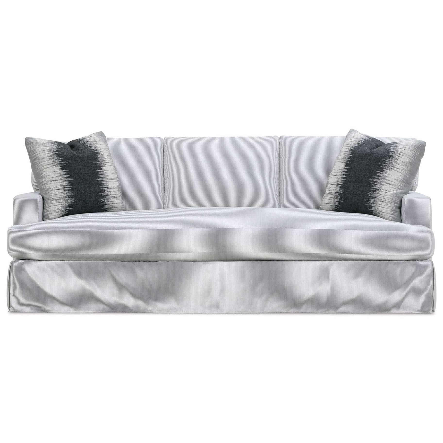 Grayson Slipcovered Sofa by Rowe at Steger's Furniture