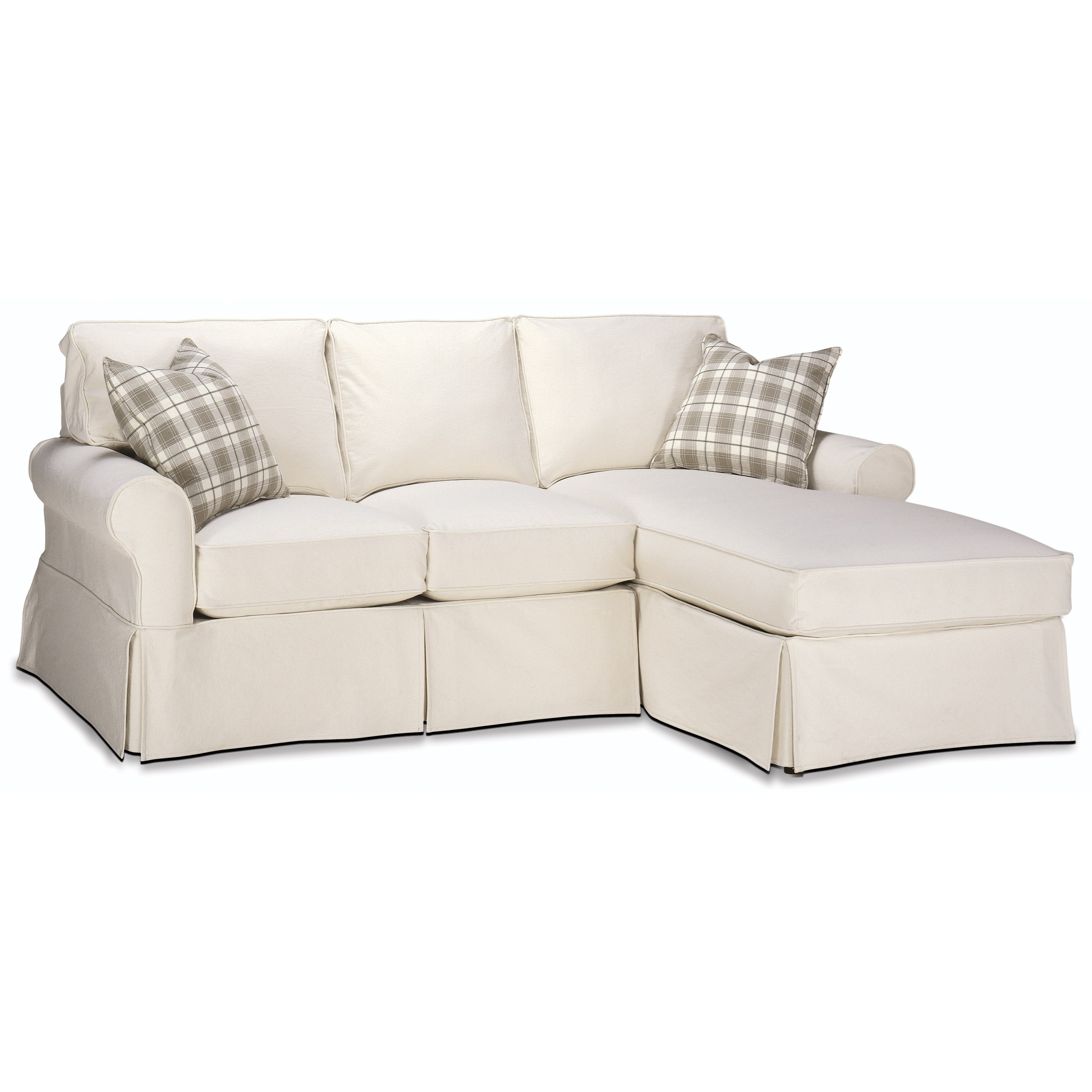 Masquerade Sectional Sofa by Rowe at Saugerties Furniture Mart